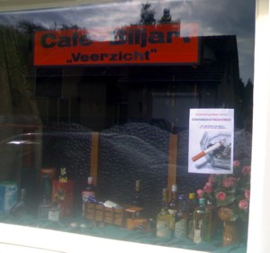 Poster voor het raam (Lith)
